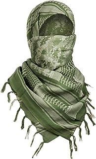 Distinct/® Sciarpe Militare Antivento Sciarpa Uomini Musulmani Hijab Sottile Shemagh tattico Scialle Arabo keffiyeh