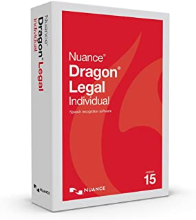 Dragon Legal Individual 15.0, Dictate Documents and Control your PC – all by Voice, [PC Disc]