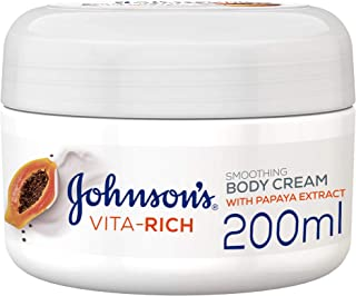 Johnson's Vita-Rich Smoothing Body Cream - 200 ml