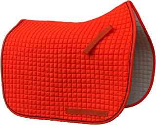 Huge Selection of Colorful Dressage Saddle Pads | Box-Quilted Cotton/Foam | PRI Pacific Rim