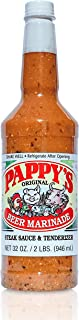Pappy's Choice Seasonings Beer Sauce Marinade - Perfect for bbq smoked brisket, tri tip, steak, beef, chicken, fajita, hogs, rib, seafood, & more. Seasoning gift sets, spice mixes and rubs.