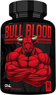 Sponsored Ad - Bull Blood - Ultimate Men's Endurance Booster - Osyris Nutrition Lab - Made in USA (60 Capsules)