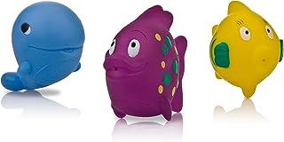 Nuby 3-Pack Fun Fish Squirter Bath Toys
