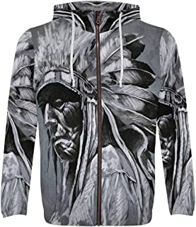 Unique Design Men's Zipper Hoodies Sweatshirt