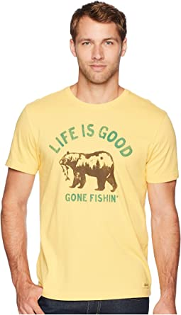 Gone Fishing Bear Crusher T-Shirt