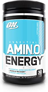 Optimum Nutrition Amino Energy – Pre Workout with Green Tea, BCAA, Amino Acids,..