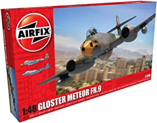 Airfix Gloster Meteor FR.9 1:48 Military Aircraft Plastic Model Kit A09188