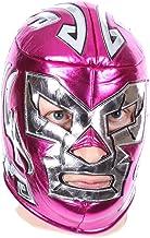 Mascarilla rosa gigante de Wrestling, antifugas, antifaz