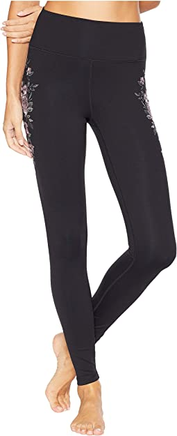 Embroidered Perfect High-Waist Leggings