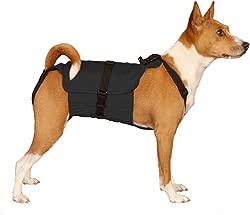 Dog Diaper Wrap MEDIUM BLACK