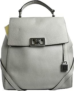 Michael Kors Women's Karson Leather Medium Backpack - Pearl Grey