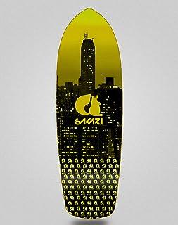 Sakari Surfskate Skate Skateboard Deck City Yellow...