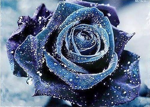 Rosa Diamant Malerei 5D DIY überqueren Stich Lila Rosa Kristall Harz Diamant Farbe Blaume Voll Diamant Mosaik Auf Segeltuch Leben Zimmer Dekoration Kits , 8057 cm
