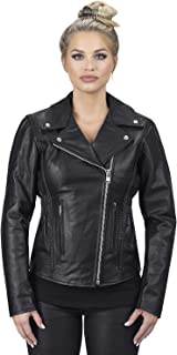 Best leather jacket motorcycle womens Reviews