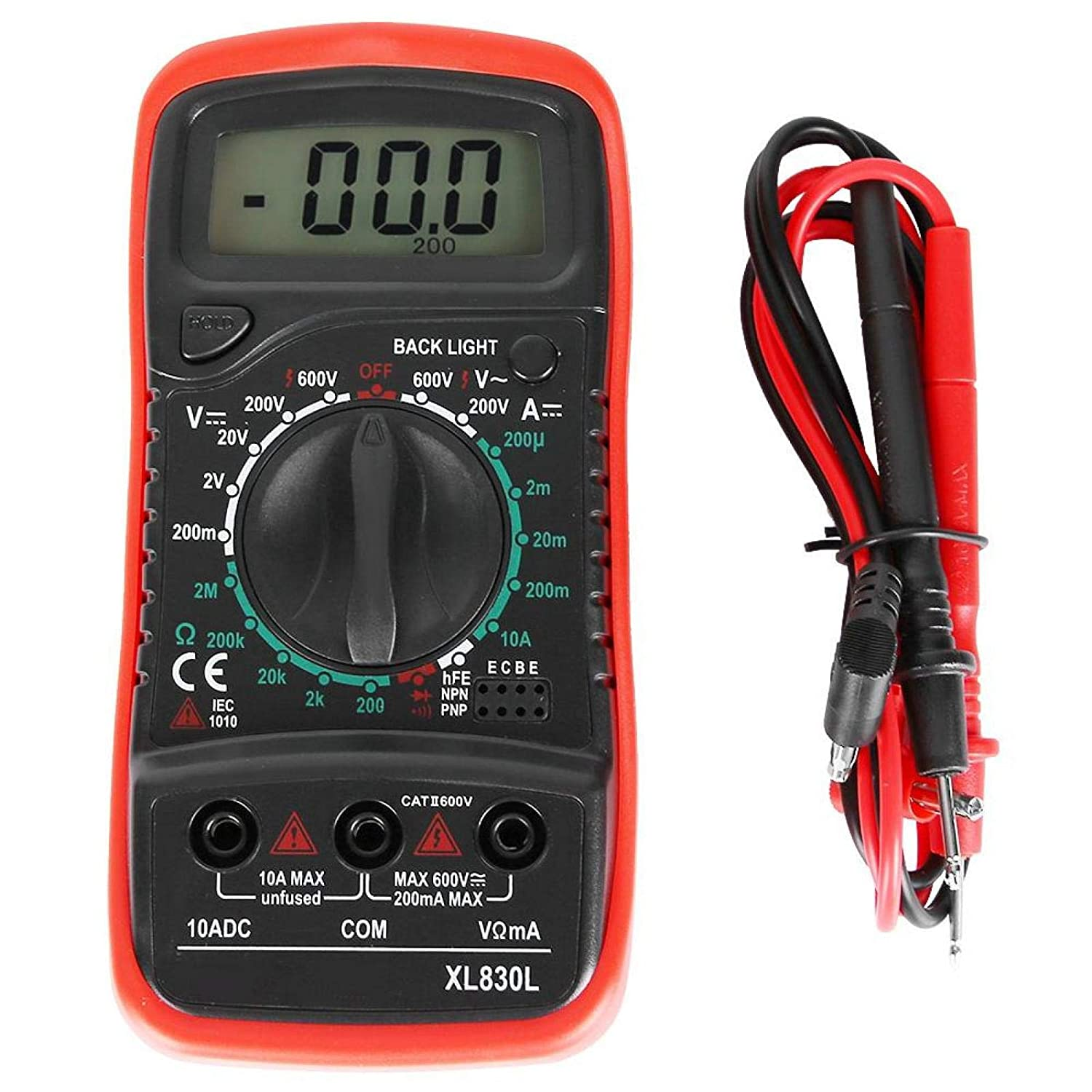 San Antonio Mall OFFicial shop Digital Multimeter Ohmmeter Auto-Ranging Fast Accurately Measure