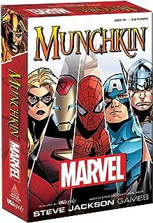 USAopoly MU011-000-001600-06 Munchkin Marvel Universe Strategy Game