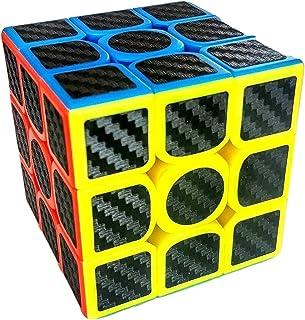 Magic Cube-Cubo rubik Profesional Premium Moyu 3x3, Fibra de