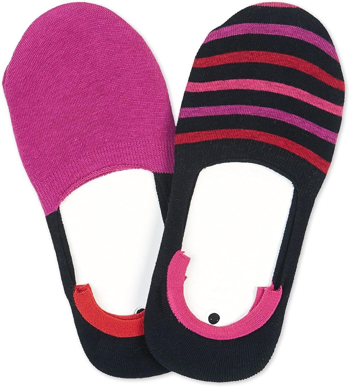 Hue-Pk. Sneaker Liner Socks Mulberry