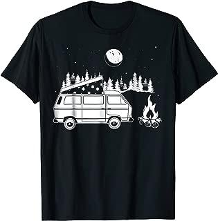Van Life T shirt - Vanagon Camper Van Bus Dipper Campfire