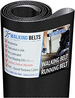 WALKINGBELTS Walking Belts LLC - 297171 Lifestyler Expanse 800 Treadmill Walking Belt 1ply + Free 1oz Lube