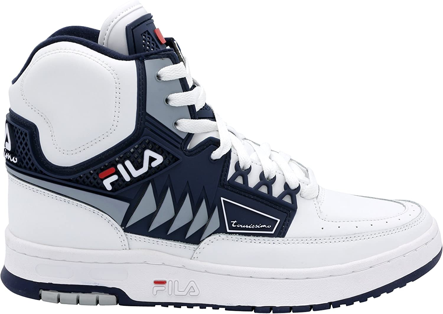 Fila Men's Tourissimo Mid Sneaker White Black