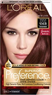rouge hair color