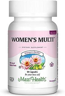 Women's Multi - 1-a-day -Vitamins, Chelated Minerals, 800 mcg Methyl Folate - Kosher - 60 Caps