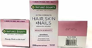 Hair, Skin & Nails Cabelo Pele Unhas 250cps Nature's Bount