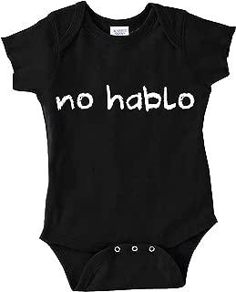 Party Explosions No Hablo Espanol Humorous Infant Onesie