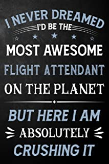 I Never Dreamed I'd Be The Most Awesome Flight Attendant On The Planet But Here I Am Absolutely Crushing It: Flight Attend...