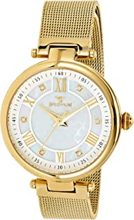 Spectrum Women's White Dial Stainless Steel Mesh Band Watch - 25158L-2