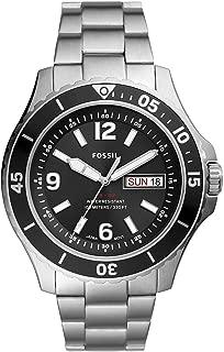 FB-02 Three-Hand Date Stainless Steel Watch FS5687