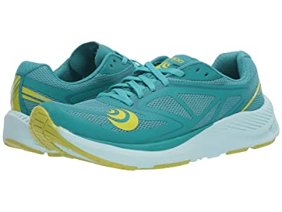 Topo Athletic Zephyr (Teal/Lime) Women