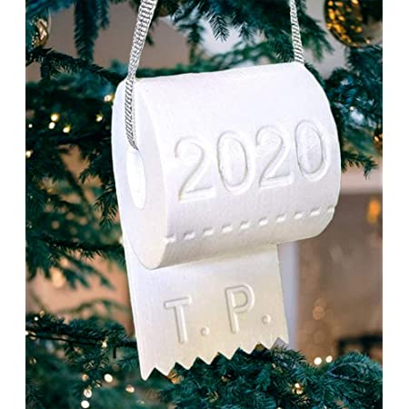 2020 Christmas Ornament Commemorative Funny Ornament Toilet Paper Ornament– A Year to Remember