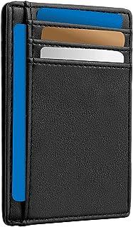 Men Card Holder - RFID Card Wallet - Slim Men Wallet - Minimalist Credit Card Holder - RFID Protection Technology - Holds ...