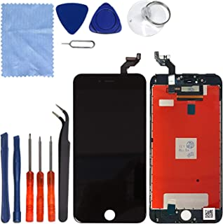 CELL4LESS LCD Touch Screen and Digitizer Assembly for The iPhone 6S Plus 5.5inch(Model A1634, A1687) (for iPhone 6S Plus Black)