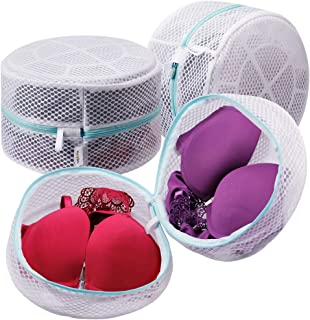 Plusmart Bra Laundry Bag, Mesh Laundry Bag for Delicates, Bra Washing Bag for F to G Cup,3 Pack