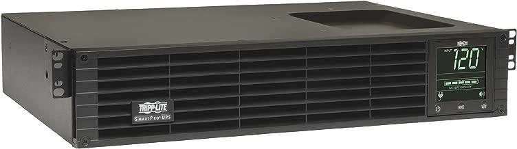 Tripp Lite 1500VA Smart UPS Back Up, Sine Wave, 1350W Line-Interactive, 2U Rackmount, Extended Run Option, LCD, USB, DB9, 2 & 3 Year Warranties, $250,000 Insurance (SMART1500RMXL2UA)