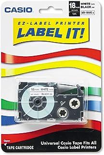 Casio Inc. XR18WES tape cartridge for KL series label printers