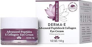 DERMA-E advanced Peptide & Collagen Eye Cream, White, 0.5 Ounce