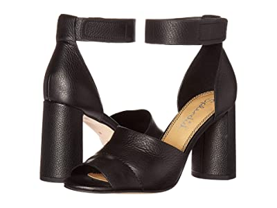 Splendid Thandie (Black Soft Waxy Leather) High Heels