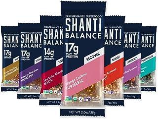 SHANTI BALANCE | Multi Flavor Variety Pack | 10-17g Plant Based Protein | Organic Gluten Free Superfood | Immunity Boostin...