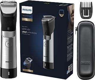 PHILIPS Beard Trimmer 9000 Prestige, Black/Sliver, BT9810/13. 2 years warranty