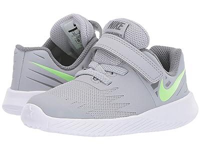 Nike Kids Star Runner (Infant/Toddler) (Wolf Grey/Lime Blast/Cool Grey) Boys Shoes