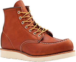 Red Wing Moc-Toe Classic Boots + Free tin of Mink Oil + Free