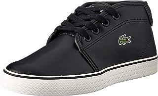 Lacoste Children's Ampthill 119 1 Kids Fashion Shoes, BLK/Off WHT