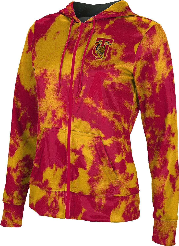 ProSphere Tuskegee University Girls' Zipper Hoodie, School Spirit Sweatshirt (Grunge)