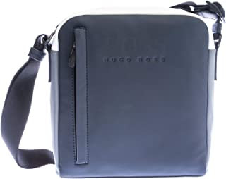 BOSS Hyper T_NS Zip Bag in Navy