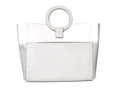 Vince Camuto Clea Tote (Radiant White) Handbags