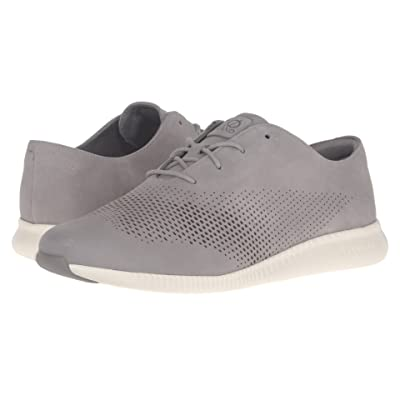 Cole Haan 2.0 Grand Laser Wing Oxford (Ironstone Nubuck/Ivory) Women